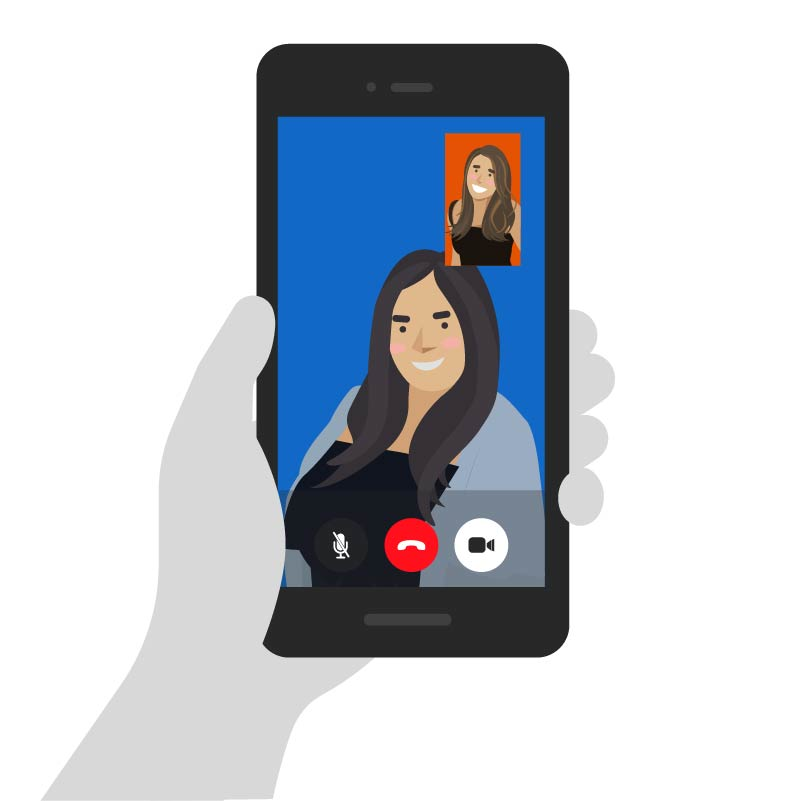 Animated Videocall