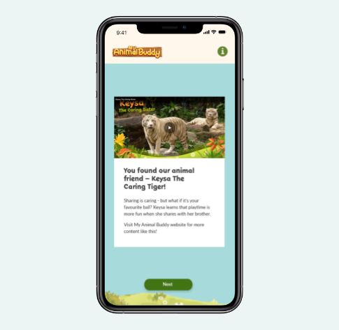 Web App design and development for Wildlife Reserves Singapore